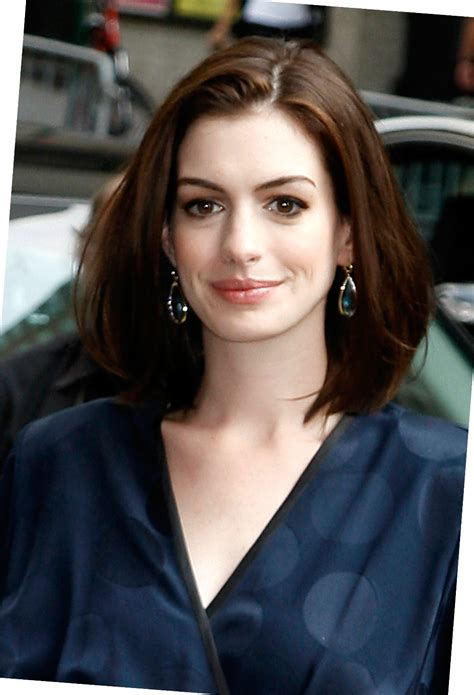 Anne Hathaway Medium Hairstyle   2017   2018 Best Cars Reviews