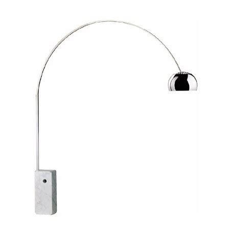 Le Arco Pied Marbre 4176 ladaire design socle marbre