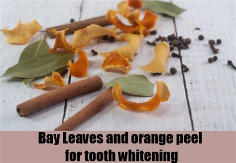 Leaves To Get Teeth Whitened by How To Get Rid Of Yellow Stains From Teeth Ways