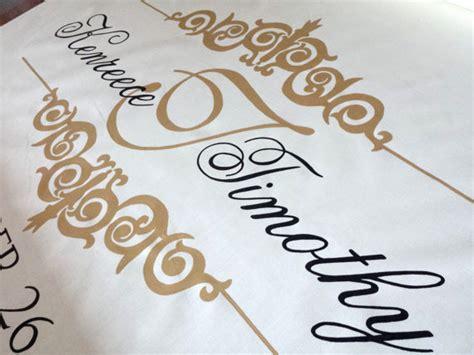 Wedding Aisle Runner Ivory by Ivory Aisle Runner Wedding Monogram Isle Runner Ceremony
