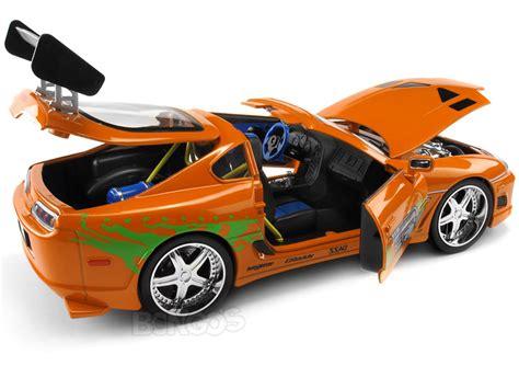 Wheels Fast 4wd Diecast Orange diecast cars quot fast furious quot brian s toyota supra 1 18
