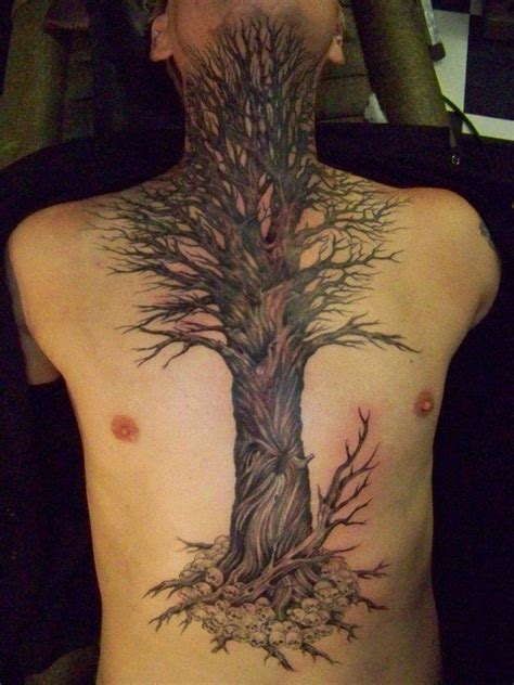 side tree tattoo designs tree tattoos for ideas and designs for guys