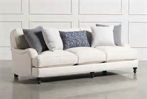 living rooms with white couches abigail sofa living spaces