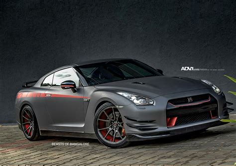 nissan gtr matte black and red matte gray nissan gt r jotech 1 m v1 cs private design