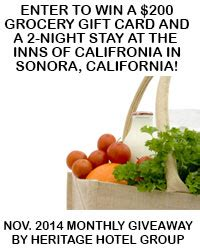 Black Oak Casino Gift Cards - nov 2014 200 grocery gift card and 2 night sonora ca hotel stay heritage hotel