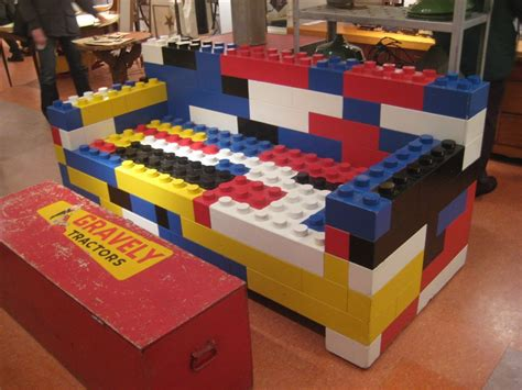 Comfortable Chair by Lego Inspired Furniture And Designs With Nostalgic Flair