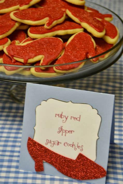 ruby slipper cookies ruby slipper cookies