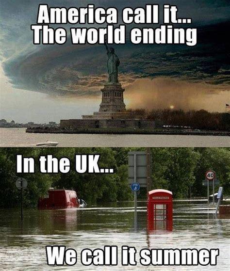 Uk Memes - natural disasters