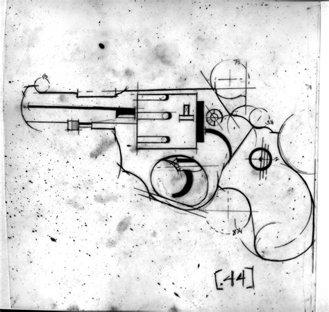 how to draw a gun schematic gun drawing at anthony