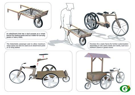 desain gerobak roda blog comfykeren alat transportasi roda 3