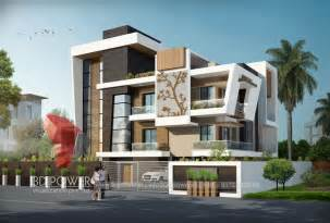 bungalow designs township apartments design 3d rendering new modern