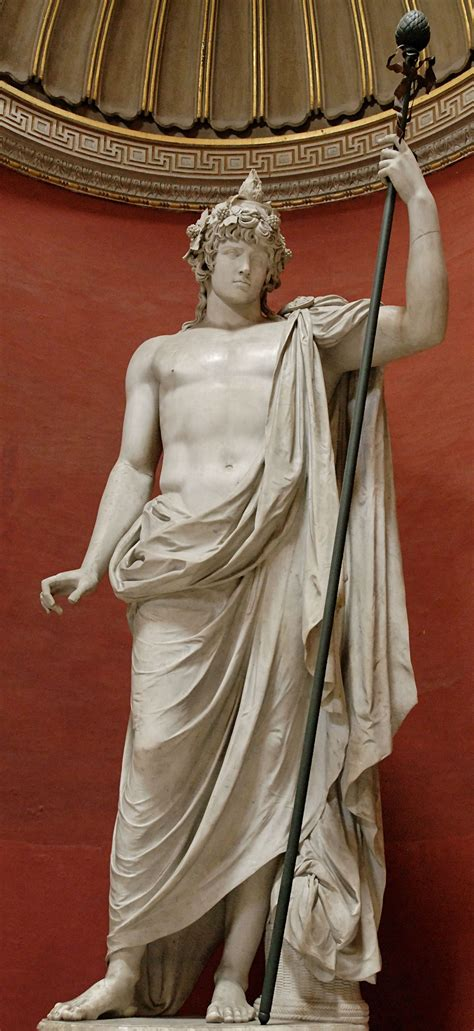 dionysus greek god statue greek god dionysus dionysus was the son of zeus and