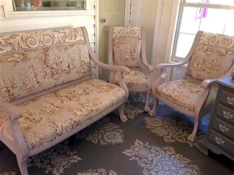 chalk paint tallahassee this gorgeous set was finished in white chalk
