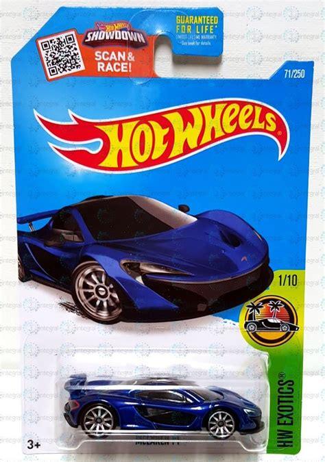 Diecast El Viento Hotwheels Wheels Miniatur new 2016 wheels hw exotics mclaren p1 1 71 250