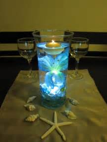 lighted wedding centerpieces blue led lights for centerpieces roselawnlutheran
