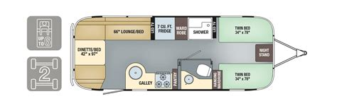 airstream travel trailers floor plans floorplans flying cloud airstream