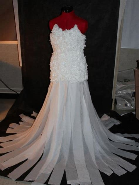How To Make Toilet Paper Dress - toilet paper dress by uneglacerose on deviantart