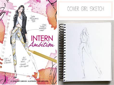 fashion illustration cover page fabulous doodles fashion illustration by hagel