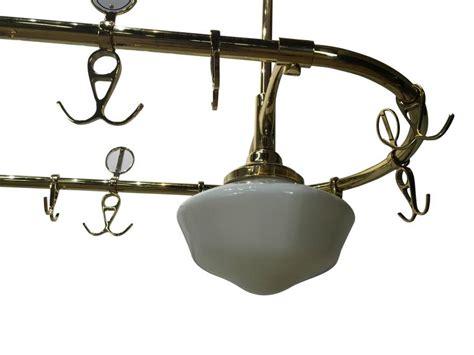 bistro retro antique brass 2 l kitchen pendant light large vintage french bistro brass chandelier at 1stdibs