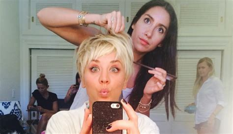 pennys new hairstyle kaley cuoco s haircut to be discussed on big bang theory