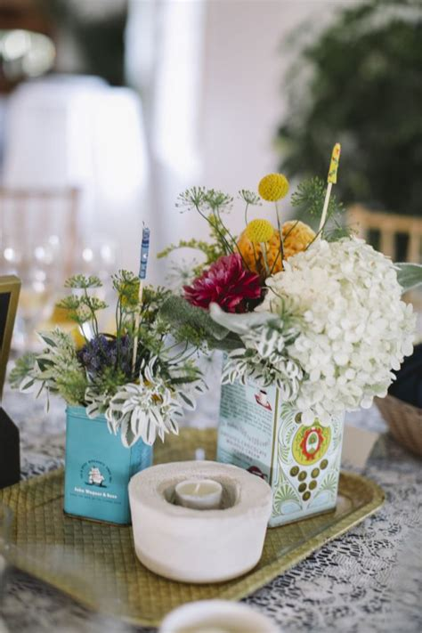 Handmade Centerpieces For Weddings - find inspiration in nature for your wedding centerpieces