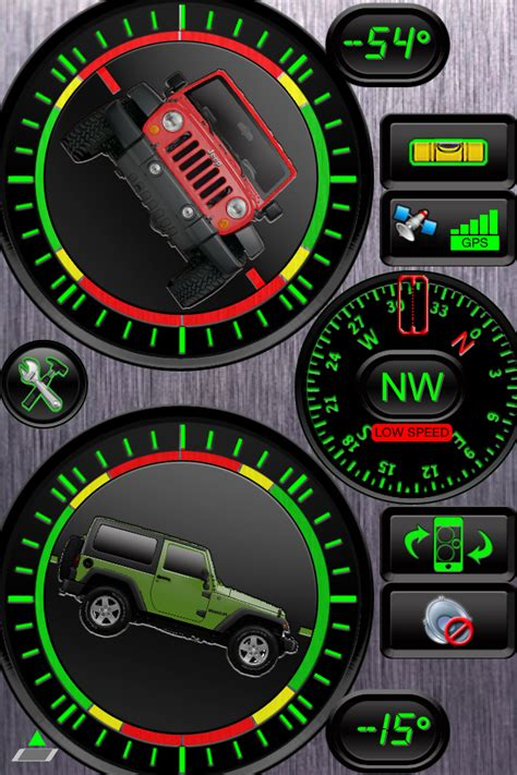 Jeep Inclinometer The Best Mobile Apps For Jeepers Offroaders