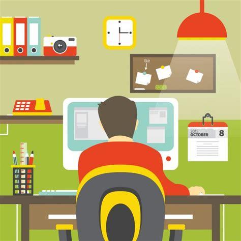 lavoro creativo da casa piatto lavoro creativo scaricare vettori gratis