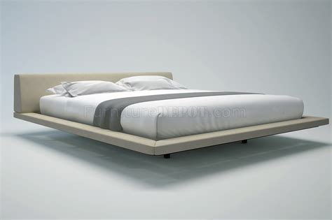 jane bed md323 jane bed by modloft in beige fabric leather w options