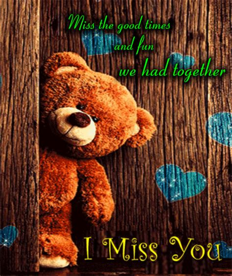 Miss You Card For Friend