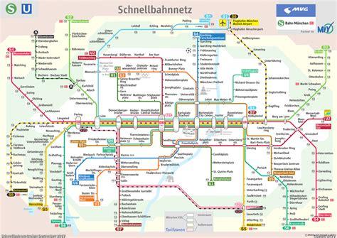 Aushangfahrplan Mvg by U Bahn M 252 Nchen Schnellbahnnetz 1972 Bis Heute