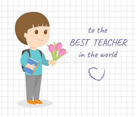 teachers day cards templates happy day card stock vector illustration of
