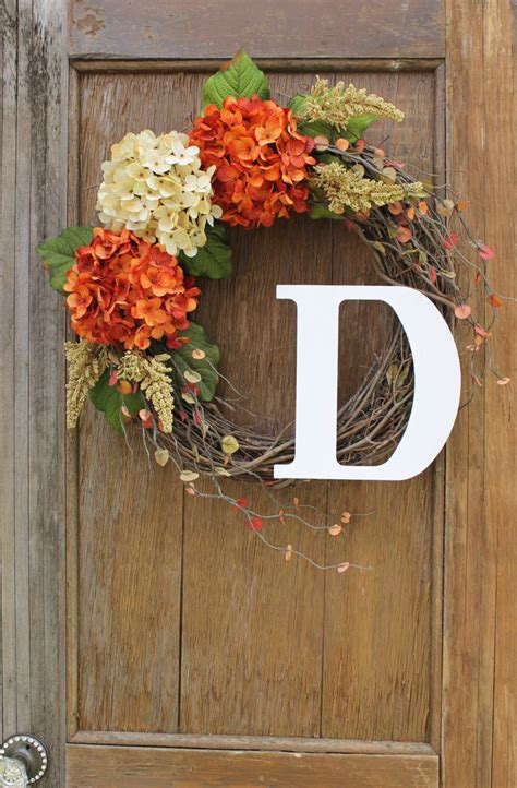 front door wreath ideas 17 best ideas about initial wreath on pinterest spring