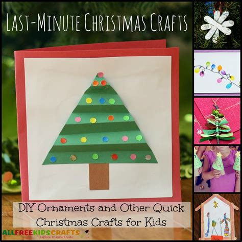 minute christmas crafts  diy ornaments