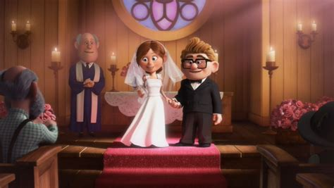 Up Film Wedding | carl ellie two towers one cup