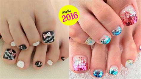 como decorarte las uñas delos pies uas de pies decoradas uas animal print y estilo francesa
