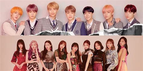 twice and bts bts and twice take over oricon charts despite current