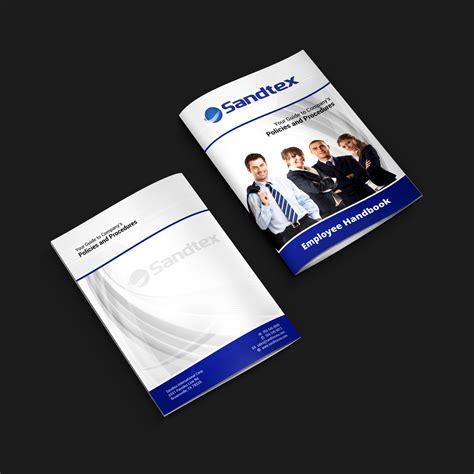 employee handbook cover design template 27 professional employee book cover designs for a employee