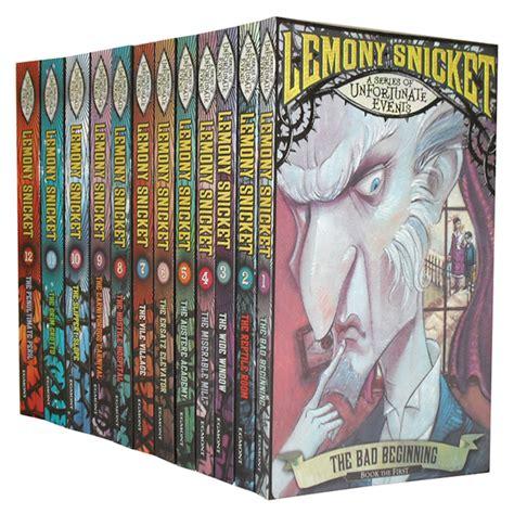 Lemony Sett a series of unfortunate events collection lemony snicket