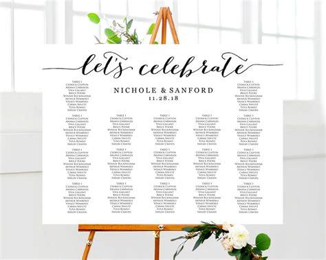 wedding ideas seating chart weddbook