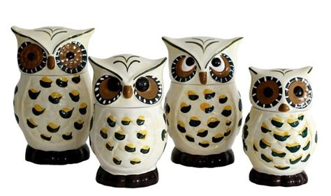 owl kitchen canisters 28 owl theme home decor for your dinning area home