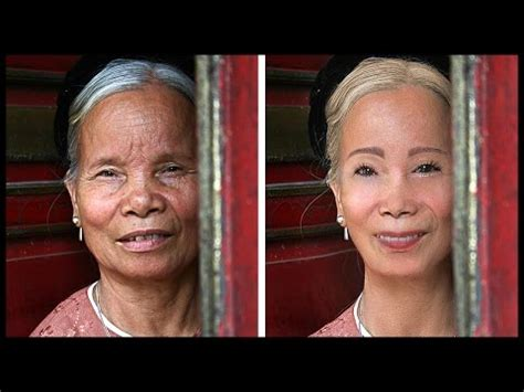 make ivers for women in their 40 extreme photoshop makeover 80 year old lady to young woman