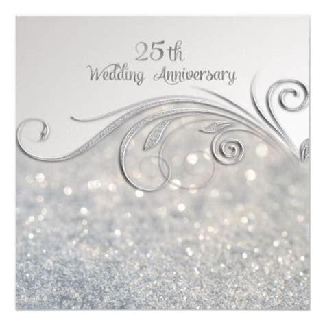 Wedding Anniversary Silver by Best 25 Wedding Anniversary Invitations Ideas On