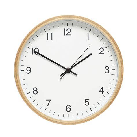 minimalistic wall clock minimalist wooden clock by peastyle notonthehighstreet com