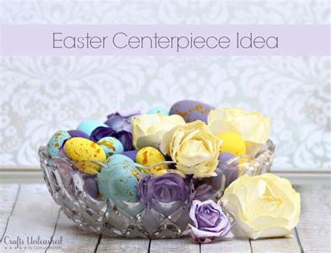 make your own table centerpiece easter table centerpiece diy idea crafts unleashed