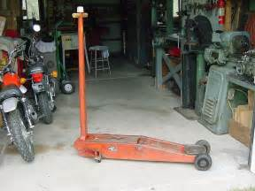 vintage snap on tools hydraulic floor lift 4 ton usa