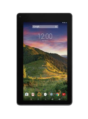 Tablet Cross Ram 1gb rca 7 quot touchscreen tablet 1gb ram black walmart ca