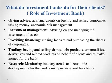 What Do Investment Banks Look For In Mba Interns by Investment Banking In India