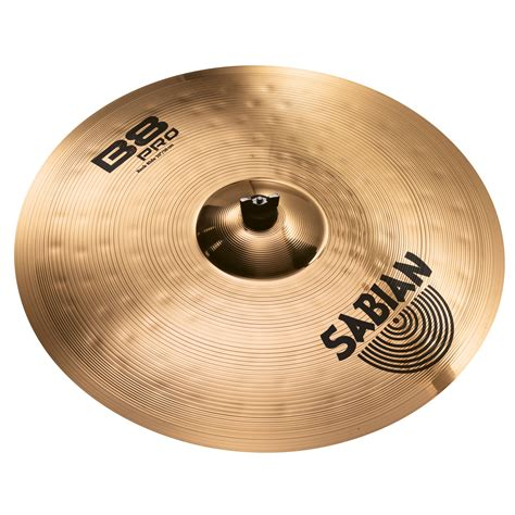 sabian 20 quot b8 pro power rock ride cymbal with brilliant