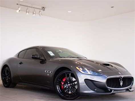 2017 maserati granturismo sport matte black 2017 maserati granturismo 2d coupe in highlands ranch