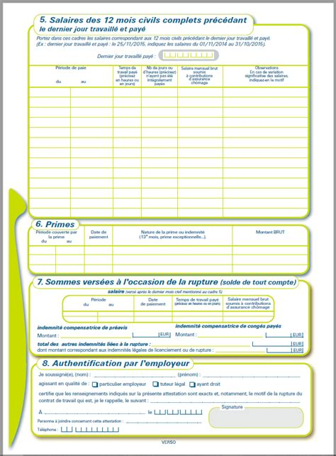 imprimer attestation pole emploi vierge ourclipart